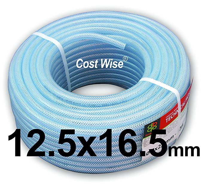 clear pvc braided hose,food grade/oil/water/fuel reinforced pipe ...