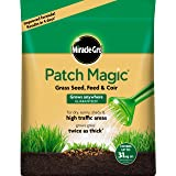 Miracle-Gro Patch Magic Grass Seed, Feed and Coir, 7kg Bag