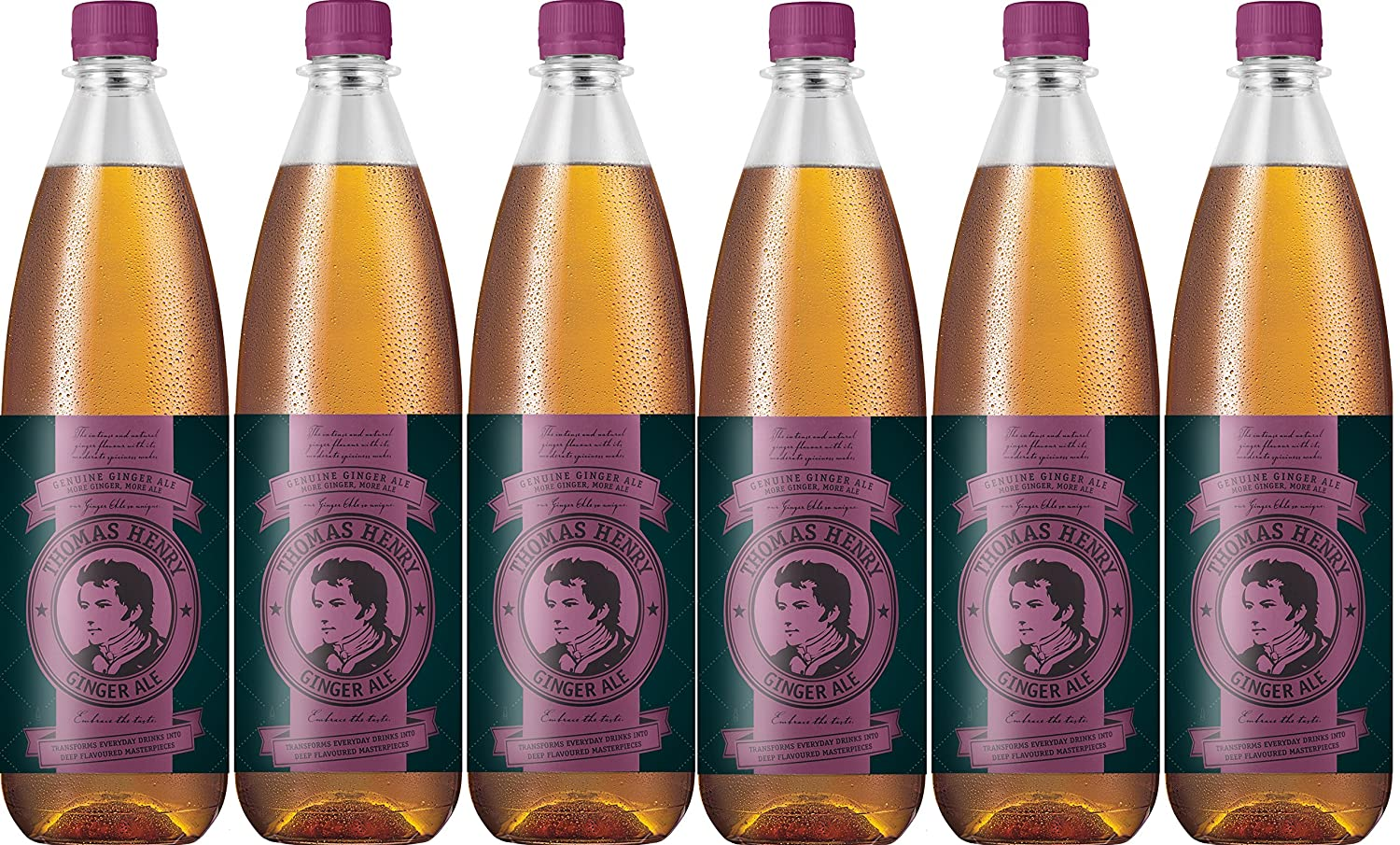 Thomas Henry Ginger Ale (6x1.0L)