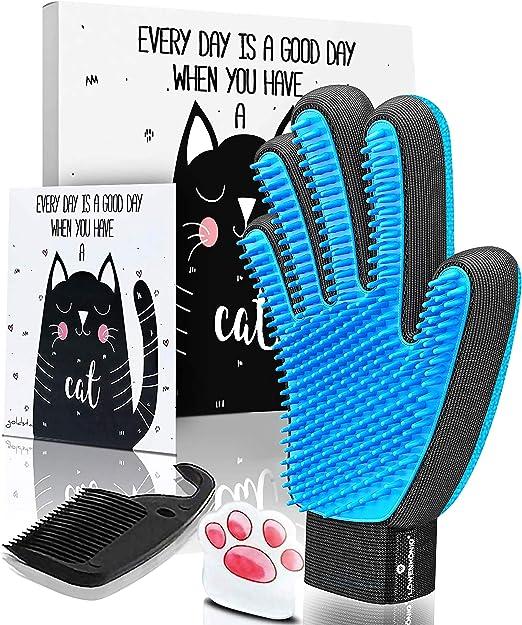 GOLDSTA Guantes Manopla Masaje para Perros mascotas gatos, Retiro del pelo y aparato de masaje, promover la circulación de la sangre, Masaje de mascotas, Guantes para la Eliminación: Amazon.es: Productos para mascotas
