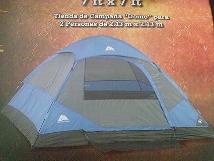 Ozark Trail 2 Person Dome Tent ... & Amazon.com : Ozark Trail 2 Person Dome Tent 7u0027 x 7u0027 : Sports ...
