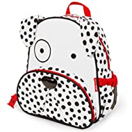 "Skip Hop Toddler Backpack, 12"" Dalmatian School Bag, Multi"