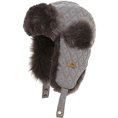 Trespass Childrens Kids Kendall Trapper Hat  Amazon.co.uk  Clothing 38bd45de5be