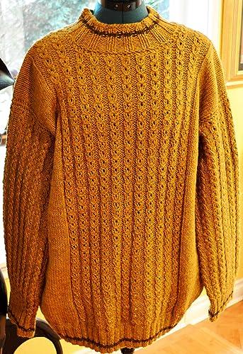 Amazon Original Design Hand Knitted Mens Sweater Pattern