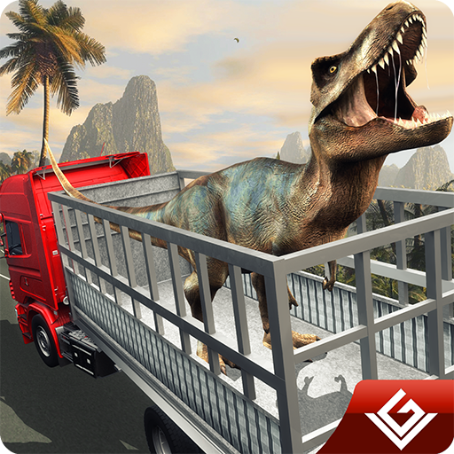 - Angry Dinosaur Transport Tycoon Deluxe 3D: Wild Animal Transporter  Monster Truck Driving Simulator Adventure Game