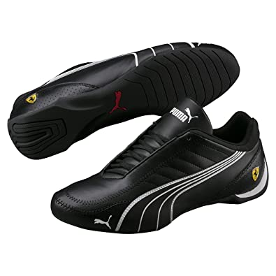 f92b8ccb5b puma Mens Ferrari SF Future Cat Kart Driving Athletic Shoes In Black (8)