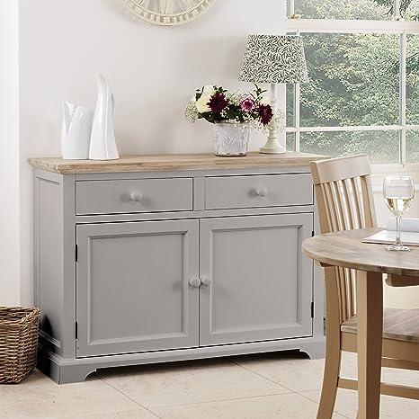 Florence credenza. Solido grigio tortora credenza da cucina, armadio ...
