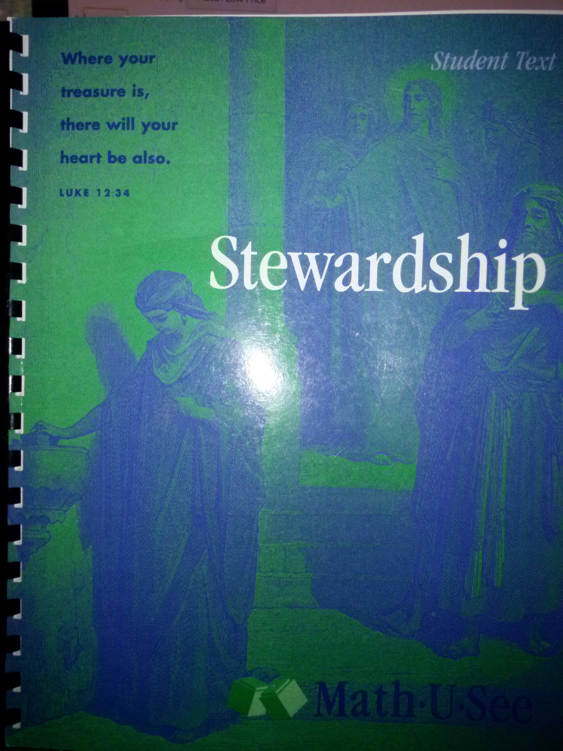 Stewardship Student Text (Book & test booklet) PDF