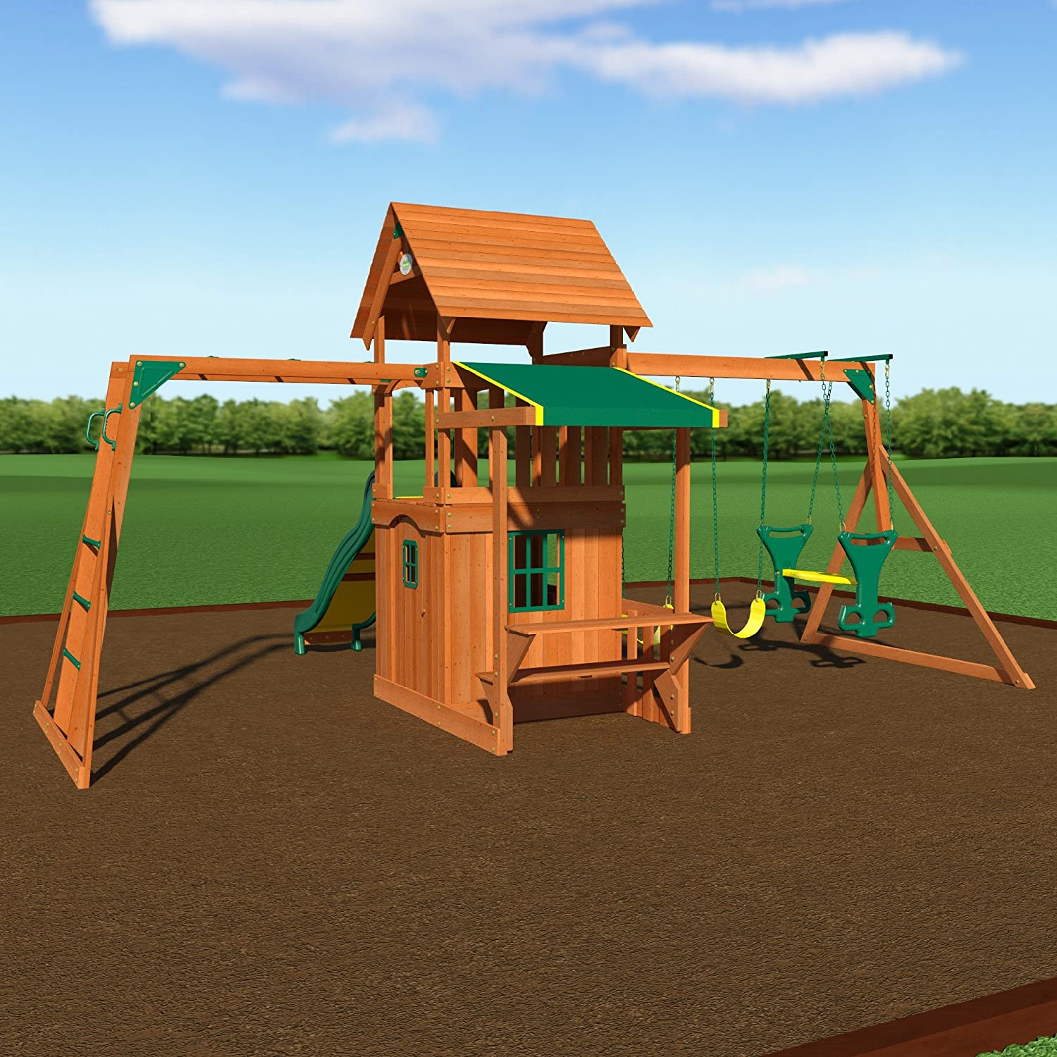 backyard discovery sonora swing set u0026 its best alternative