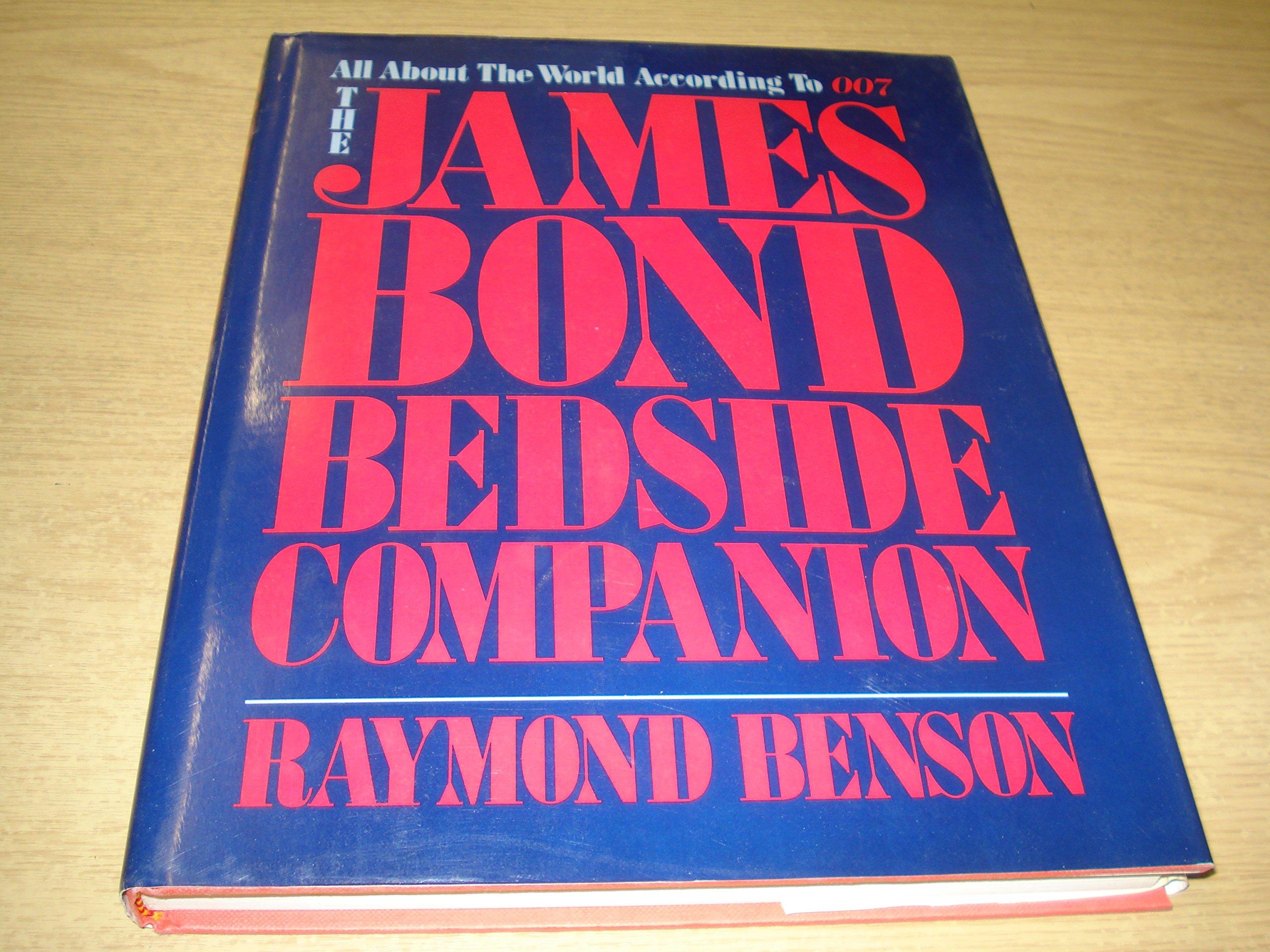 THE JAMES BOND BEDSIDE COMPANION. (SIGNED).: Amazon.co.uk: Raymond. Benson:  9780883657058: Books
