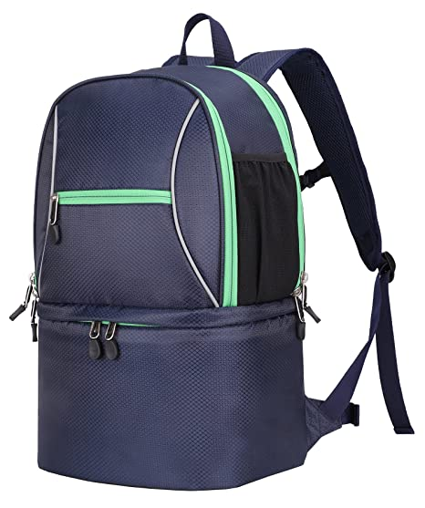 c9ae1e935ce1 Image Unavailable. Image not available for. Color  MIER Large Insulated  Lunch Backpack with Cooler Compartment for Men and Women ...