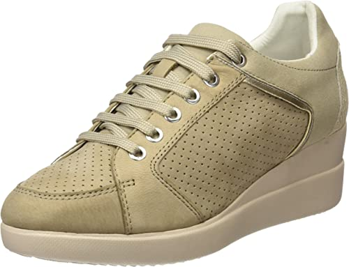bar solar sin cable  Geox Women's D Stardust B Low-Top Sneakers: Amazon.co.uk: Shoes & Bags