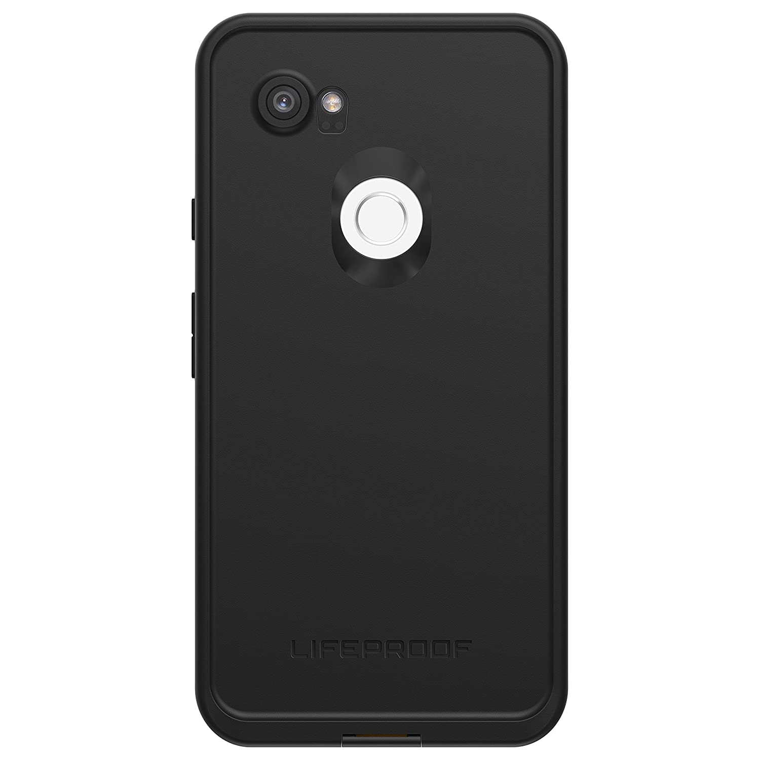 Lifeproof FRĒ Series Waterproof Case for Google Pixel 2 XL - Retail Packaging - Night LITE (Black/Lime)