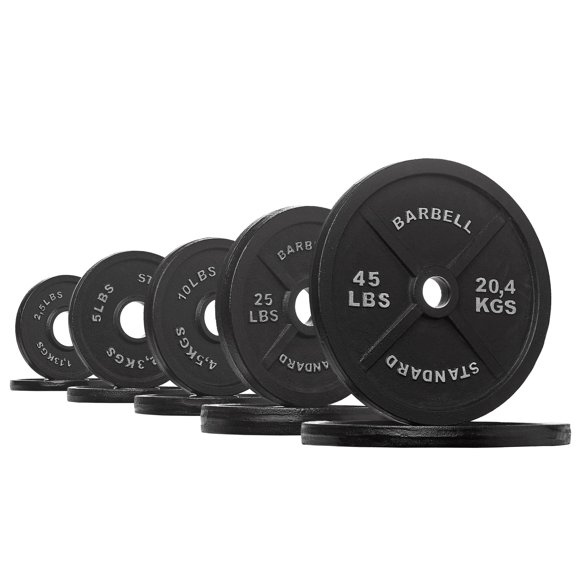 Rep Iron Plates, 175 lb Set