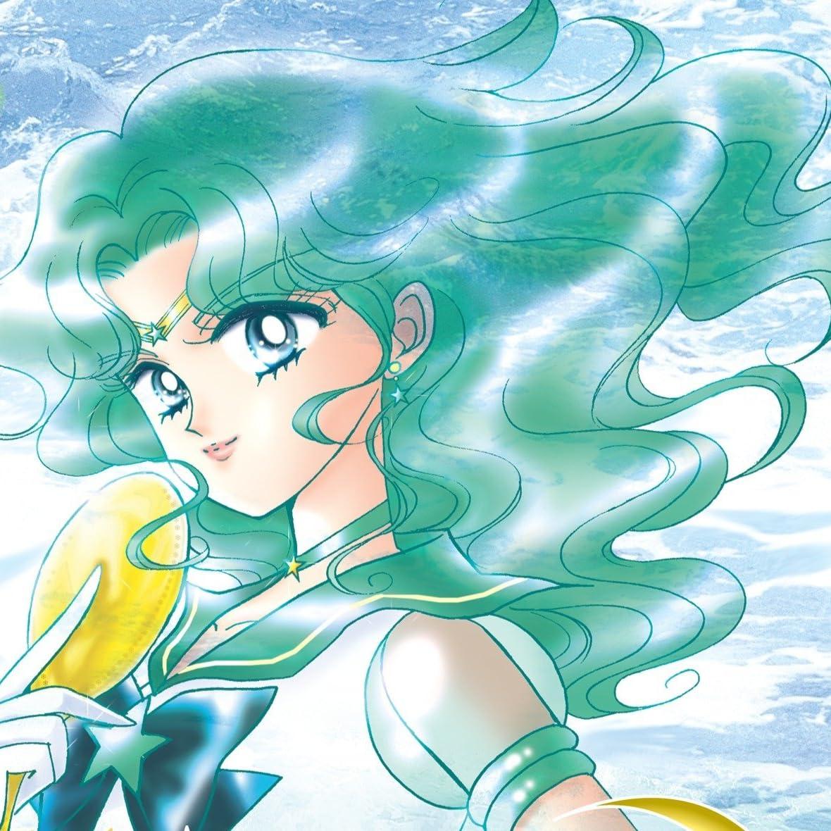 美少女戦士セーラームーン Ipad壁紙 海王星を守護に持つ深海と抱擁の
