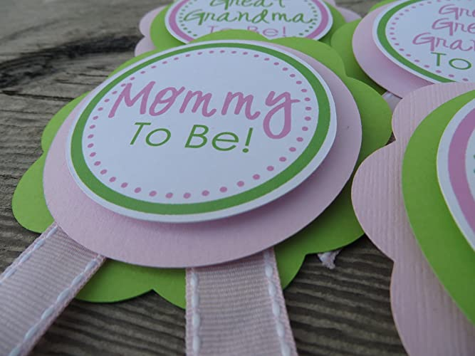 Amazon Baby Shower Corsage Personalized Baby Shower Ribbon For