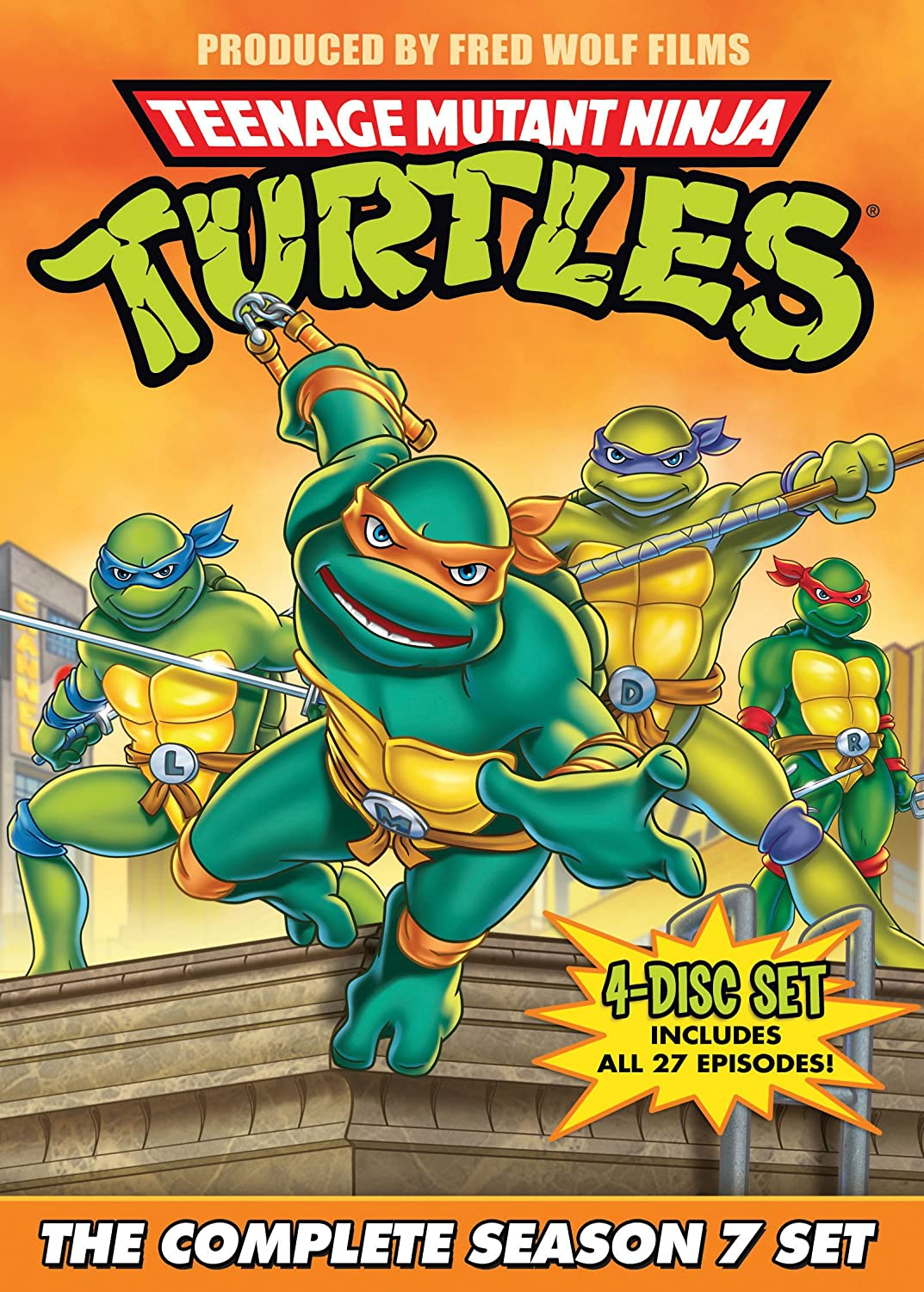 Teenage Mutant Ninja Turtles: Season 7 Reino Unido DVD ...