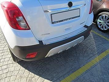 OMAC - Protector para borde carga con reborde para Opel Mokka (acero inoxidable V2A): Amazon.es: Coche y moto
