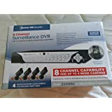 amazon com new bunker hill wireless surveillance system 62368 4 bunker hill security 8 channel surveillance dvr 4 cameras and mobile monitoring capabilities