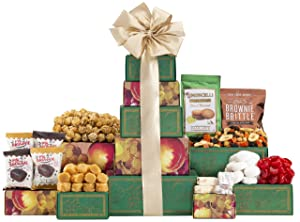Wine Country Gift Baskets Sympathy Heartfelt Sympathy Tower, 1 Count