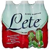 Lete Acqua Minerale Effervescente, Bottiglia 0.5L (Confezione da 6)