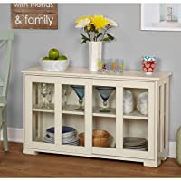 Overstock.com deals on Simple Living Glass Door Stackable Cabinet