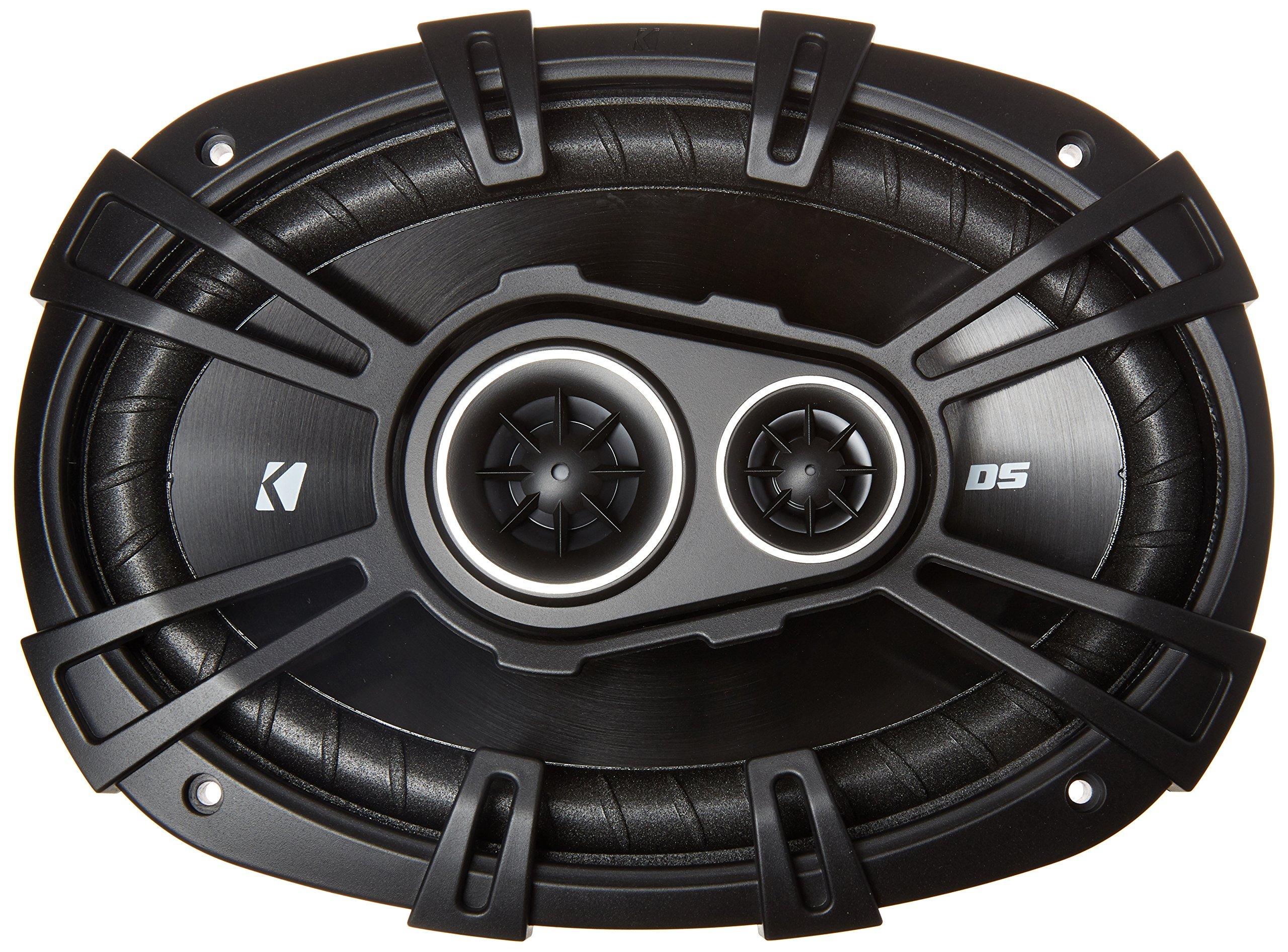2 New Kicker 43DSC69304 D-Series 6x9 360 Watt 3-Way Car Audio Coaxial Speakers by KICKER