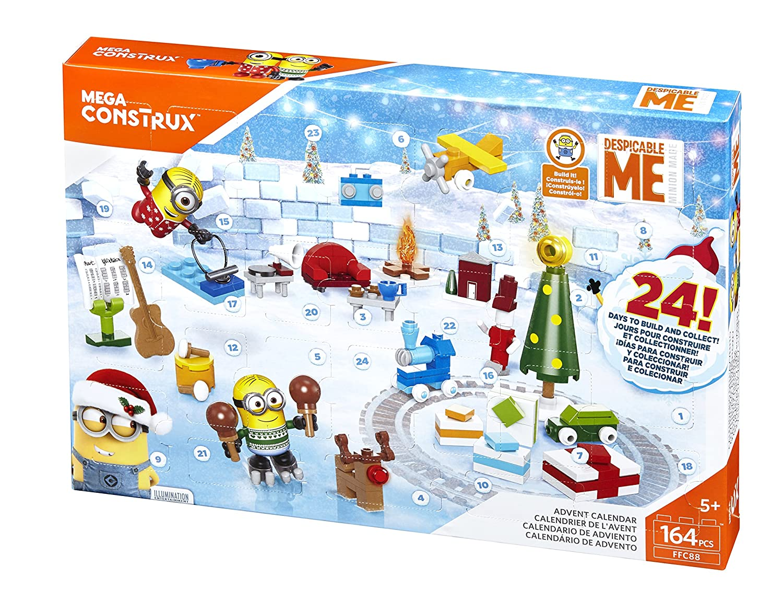 Mega Bloks Cattivissimo Me 3 Calendario dell'Avvento Minion, FFC88 Mattel Italy s.r.l.