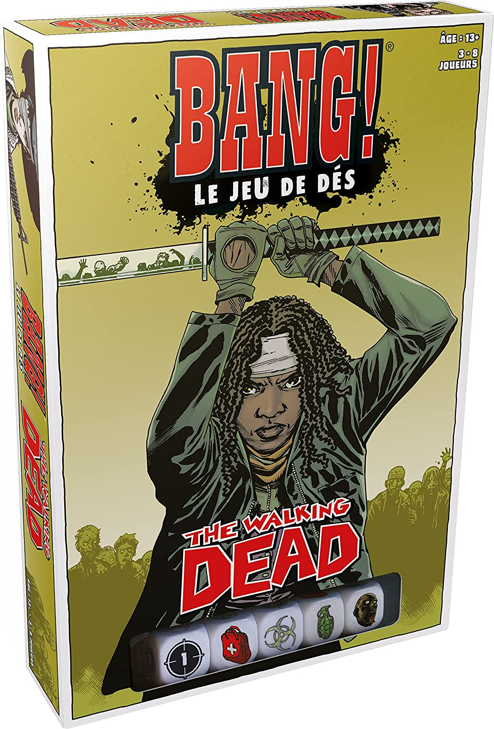 Asmodee- Society - Juego de Dados The Walking Dead, BAN11FR ...