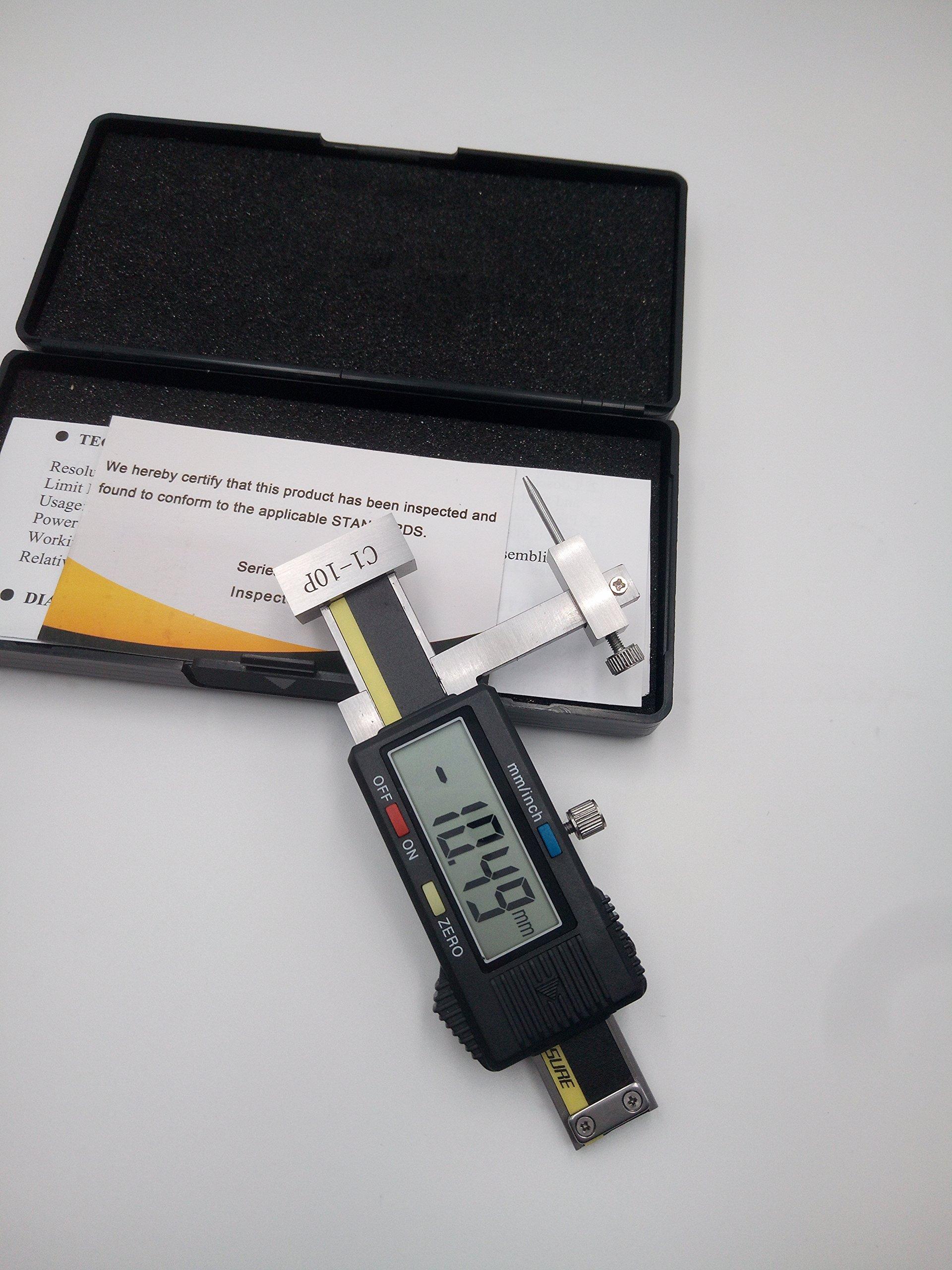 MeterTo C1-10PDigital Plane Gap Step Gauge,Range:0±10mm,Resolution: 0.01mm,Accuracy:±0.03mm
