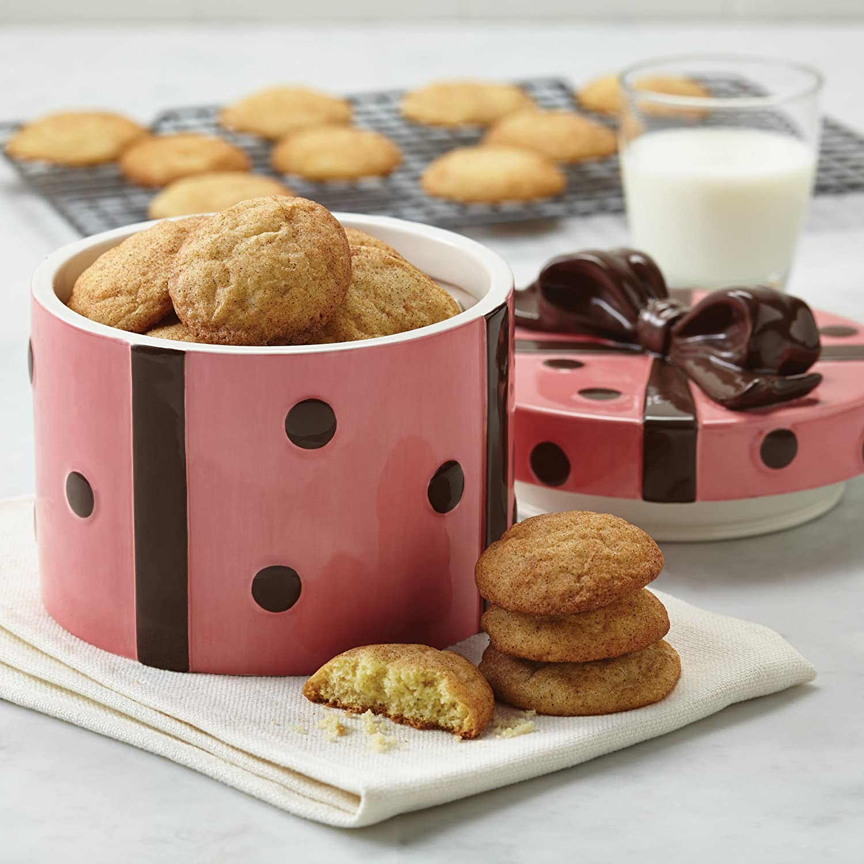 Cake Boss Contenitore per Biscotti a Forma di Pacco Regalo
