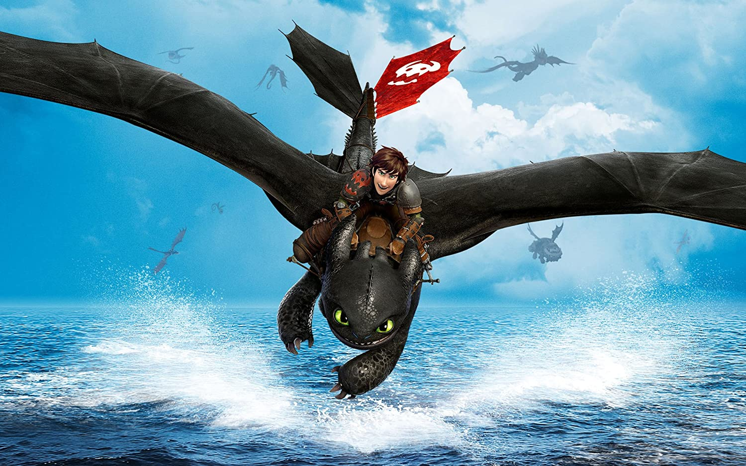 Posterhouzz Movie How To Train Your Dragon 2 Hiccup Toothless Hd
