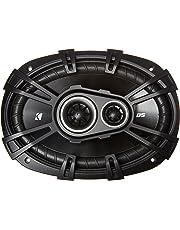 Kicker 43DSC69304 D-Series - Altavoces coaxiales de audio para coche (360 W, 6 x 9 pulgadas)
