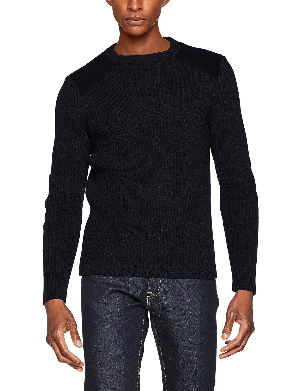 PLYANK1, Suéter para Hombre, Gris, X-Large Schott NYC