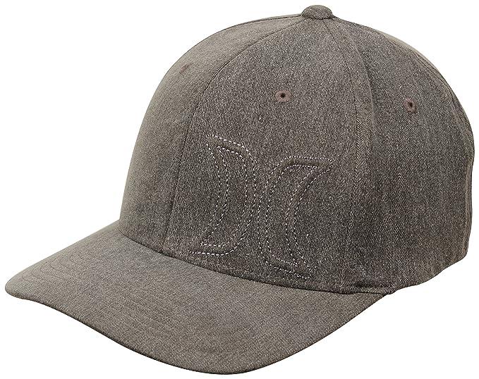 97b7531c6c3 Amazon.com  Hurley Del Mar Hat - Black - S M  Clothing