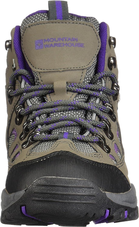 Mountain Warehouse Botas Adventurer Impermeables para Mujer - Duraderas, Transpirables, Empeine sintético y Plantilla Acolchada - Ideales para excursiones y Senderismo: Amazon.es: Zapatos y complementos
