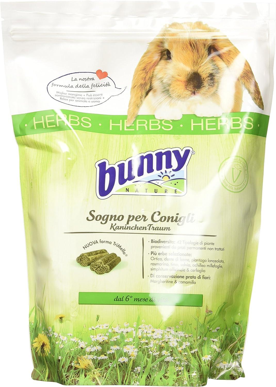 Bunny Ensueño para Conejos Enanitos Alle Hierbas Herbs–1500gr