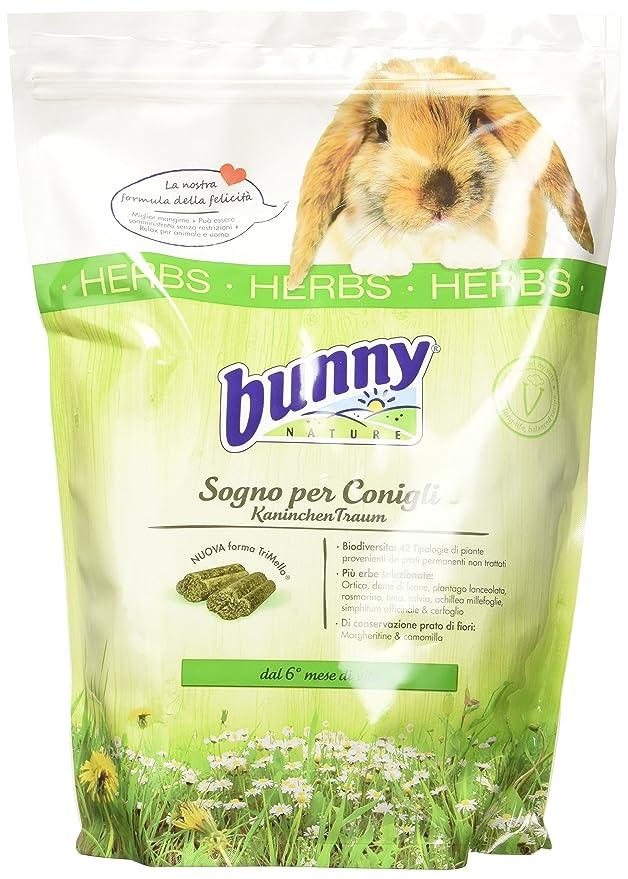 7 opinioni per Bunny Sogno per Conigli Nani alle Erbe Herbs- 1500 gr