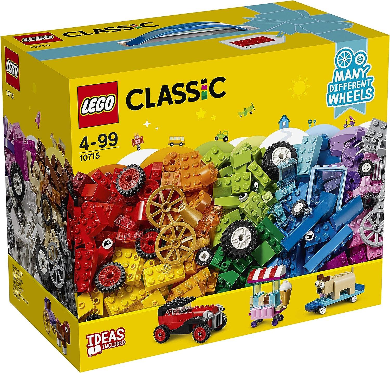 LEGO Muchas Ruedas Diferentes, Ladrillos Sobre Ruedas, Juguete de ...
