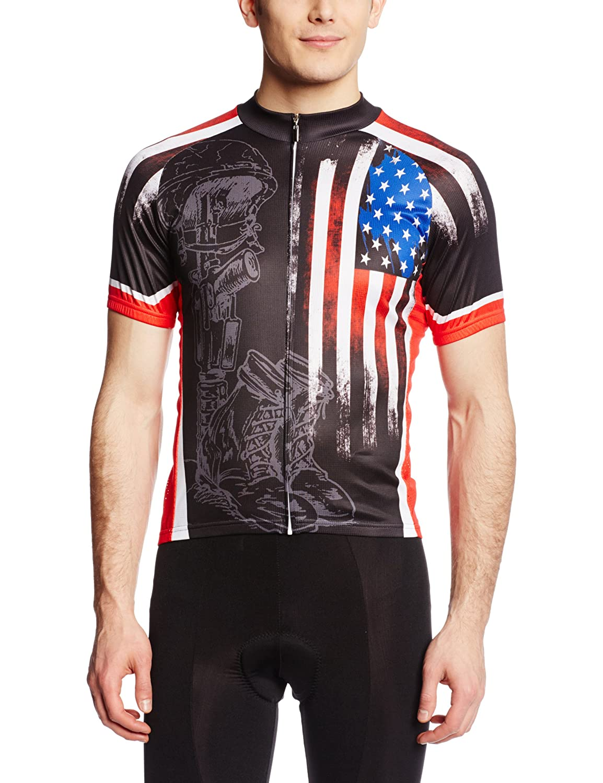 83 Herren Sportswear Fallen Warrior Radfahren Jersey