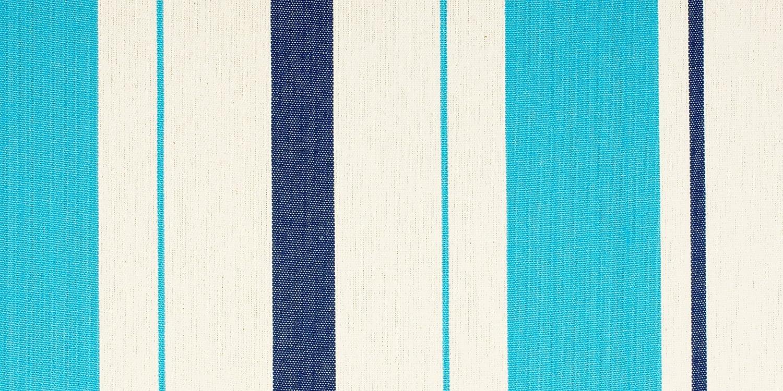 LA Klassische SIESTA - Caribeña Aqua Blau - Klassische LA Einzel-Hängematte aus Baumwolle 1e25ba