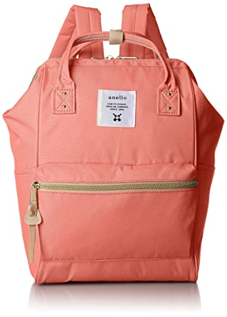 75196bd49cef anello  AT-B0197B small backpack with side pockets (coral pink)