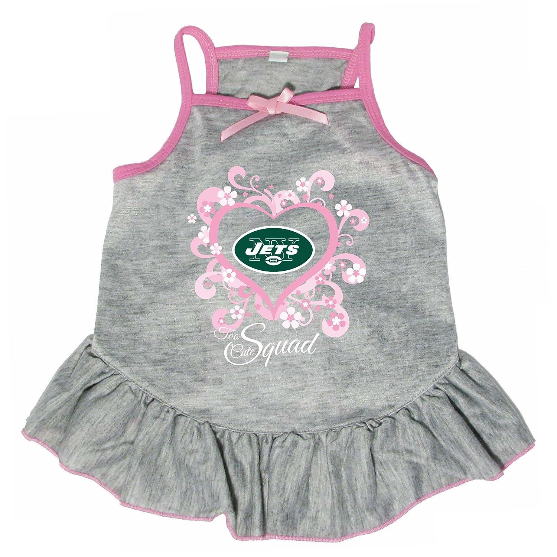Hunter 4236-10-4900 NFL New York Jets Too Cute Pet Dress, Small