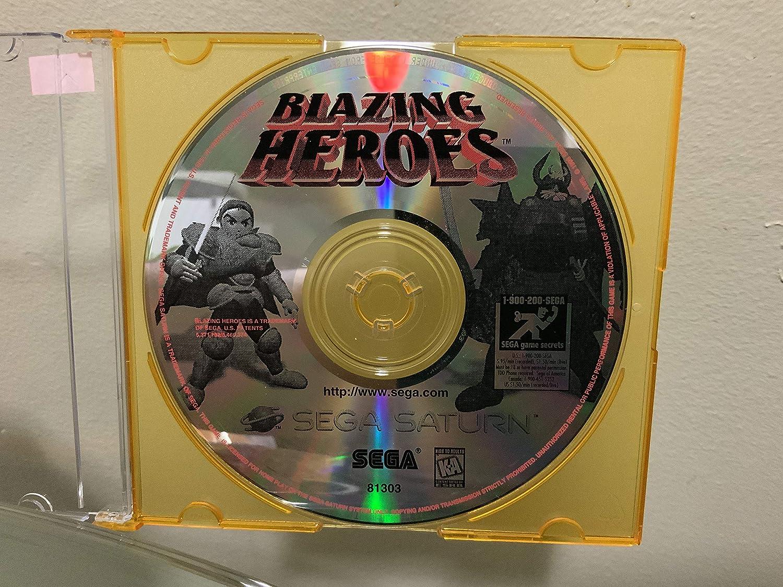 Blazing Heroes: Sega Saturn