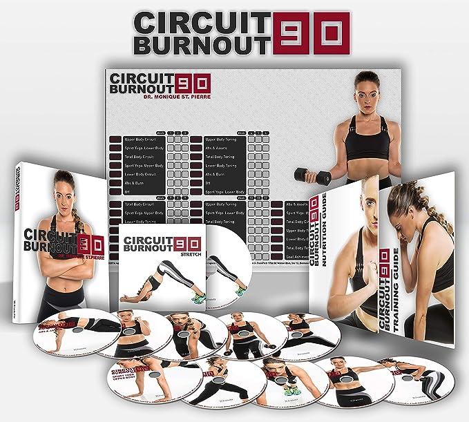 CIRCUIT BURNOUT 90 - programa de entrenamiento de 90 días, 10+1 ...