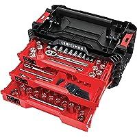 Craftsman Versa Stack 216-Piece Standard (SAE) and Metric Polished Chrome Mechanics Tool Set
