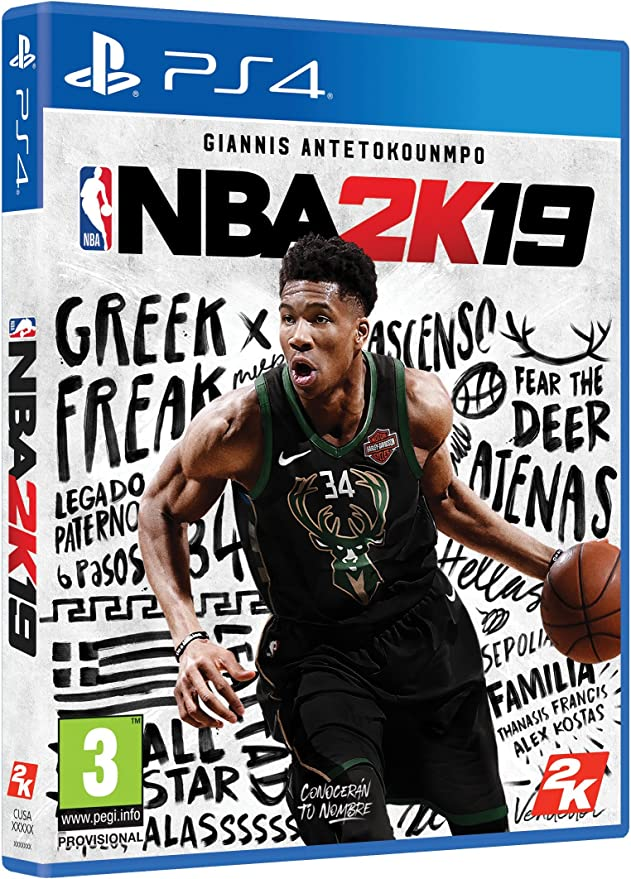 NBA 2K19 - Edición Estándar: Amazon.es: Videojuegos