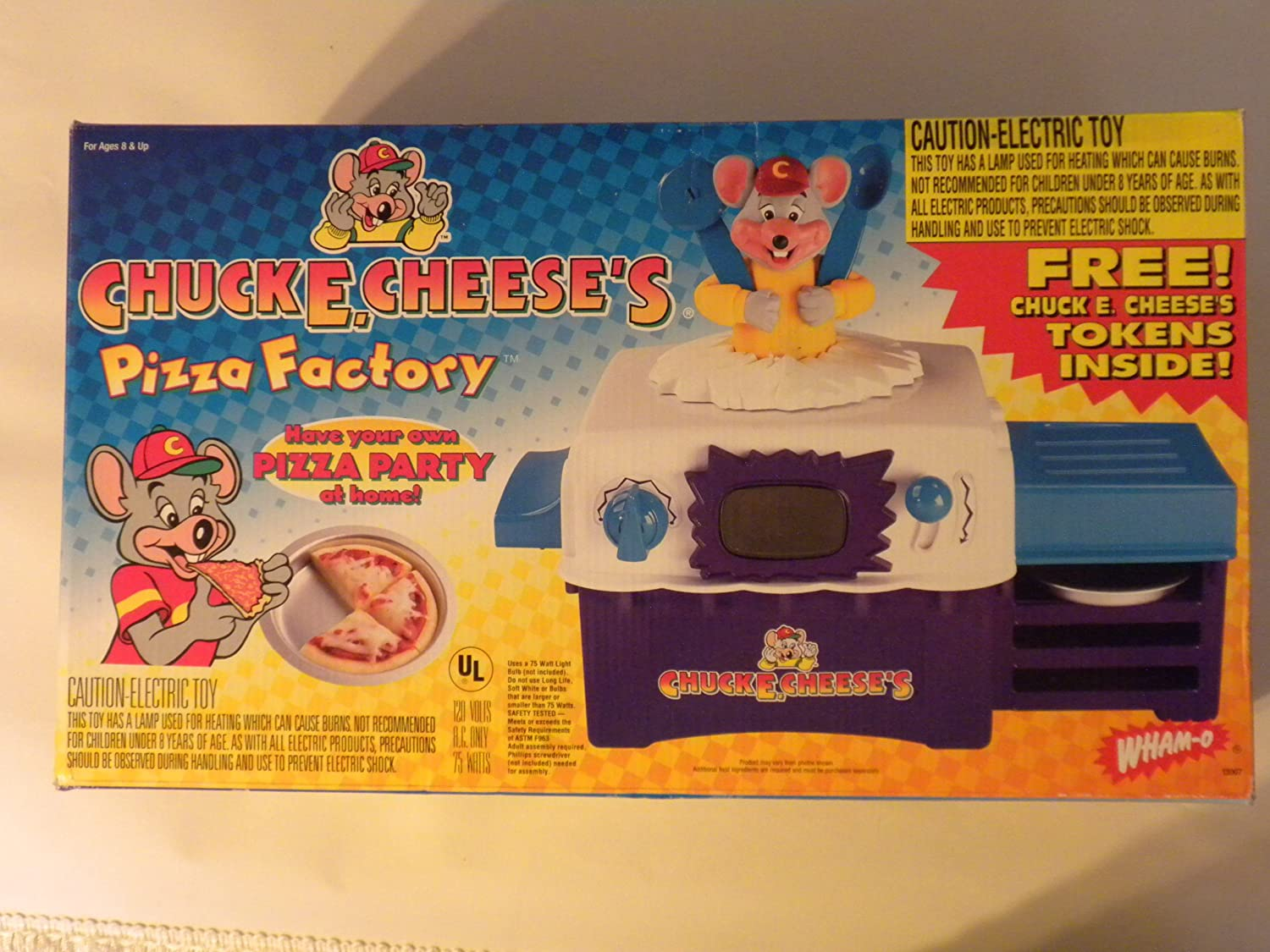 Amazoncom Chuck E Cheeses Pizza Factory Toys Games