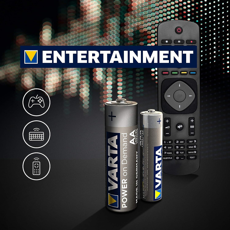 Varta Power On Demand 9v Block Elektronik