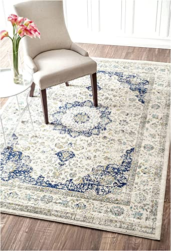 Nuloom 10 x 14 Verona Rug in Blue